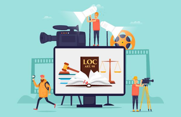 Régimen jurídico de los medios de información. Videografía.